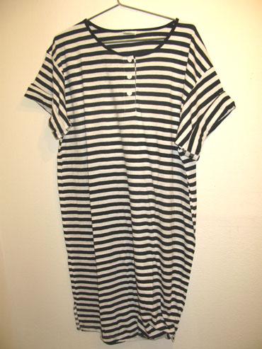 Retrosales stribet kjole 159,- (retrosales.dk)
